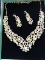 Statement Jewellery Celeb Style  Necklace & Earring Necklace Wedding Prom Specials(A) (2)
